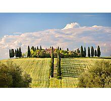 The villa Photographic Print