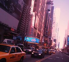 The City Streets (NYC SERIES) by bluboca