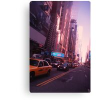 The City Streets (NYC SERIES) Canvas Print