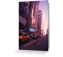 The City Streets (NYC SERIES) Greeting Card
