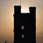 Broadway Tower Silhouette by Paul  Green