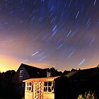 Perseid Star Trail by Cat Perkinton