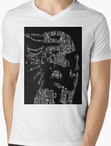 Glitch Mens V-Neck T-Shirt