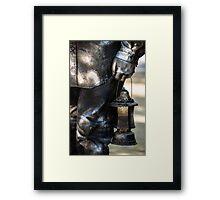 Silent Man II Framed Print