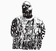Notorious Big T-Shirt by razaflekis