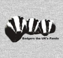 Badgers, the UK's Panda by Tim Topping