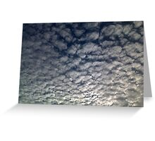Cool Clouds Greeting Card