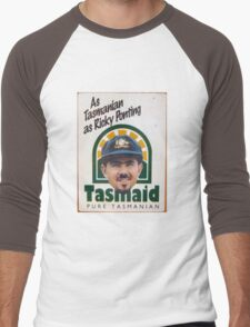 As Tasmanian as Ricky Ponting Men's Baseball ¾ T-Shirt
