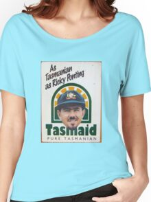 As Tasmanian as Ricky Ponting Women's Relaxed Fit T-Shirt