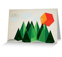 Geo-graphic Greeting Card