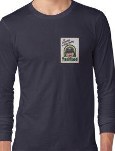 As Tasmanian as Ricky Ponting (breast pocket) Long Sleeve T-Shirt