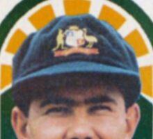 As Tasmanian as Ricky Ponting (breast pocket) Sticker
