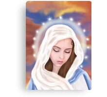 Blessed Virgin Mary Canvas Print