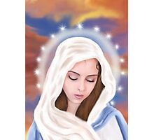 Blessed Virgin Mary Photographic Print