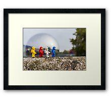 Urban Exploration (#1) - Metallic Sphere Framed Print