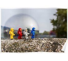 Urban Exploration (#1) - Metallic Sphere Poster