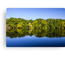 River Lune Reflections Canvas Print
