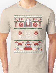 Black Box Films Christmas Sweater (Red & Green) T-Shirt