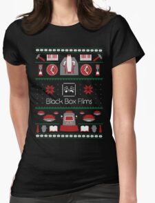 Black Box Films Christmas Sweater (Red & Green) Womens Fitted T-Shirt