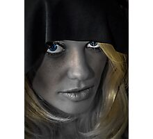 Blue Eyes Photographic Print