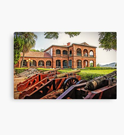 Th Guns of San Domingo - Experienced but a little rusty Canvas Print