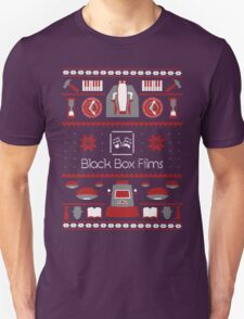 Black Box Films Christmas Sweater (Red) Unisex T-Shirt