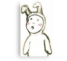 Baby Bunny 1 Canvas Print