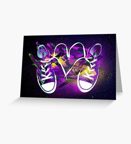 Rad Kicks Greeting Card