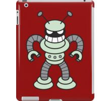 Little Cute Angry Robot!!! iPad Case/Skin
