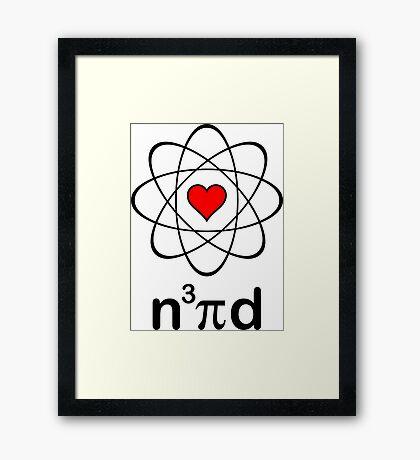 Nerd Love Framed Print