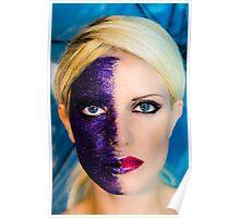 Purple Sparkles Poster