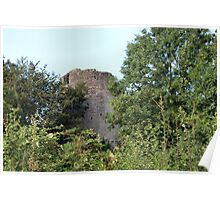 Bronllys Castle Poster