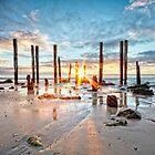 Port Willunga Sunset #1 by AllshotsImaging