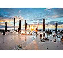 Port Willunga Sunset #1 Photographic Print