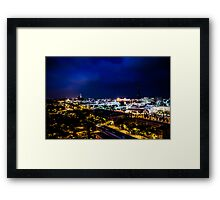 Night Colors Framed Print