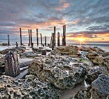 Port Willunga Sunset #2 by AllshotsImaging