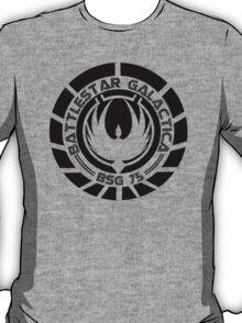 Battlestar Galactica Insignia Black T-Shirt