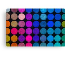 Colorful Palette Canvas Print