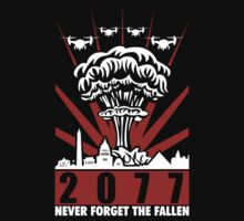 Fallout 3 / New Vegas - 2077 Never Forget The Fallen V2 by ByteCage