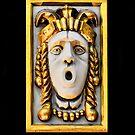 Golden Mask II by Sotiris Filippou