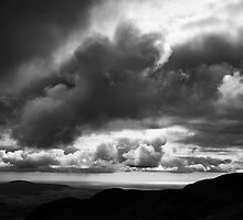Scafell Sky by Peter Gallagher
