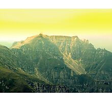 Amphitheater of The Scale Mount Photographic Print