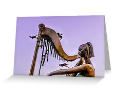 Soothing Music Greeting Card