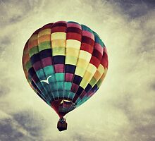 Vintage Style Hot Air Balloon by picsbytabitha
