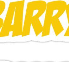Run Barry Run! Sticker