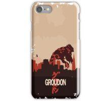 Groudonzilla iPhone Case/Skin