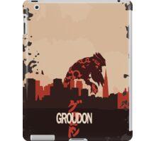 Groudonzilla iPad Case/Skin