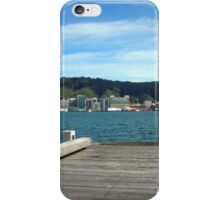 Wellington Pier Harbour View iPhone Case/Skin
