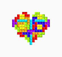 Tetris Block Heart T-Shirt