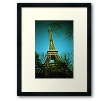 Pah-ree Pah-ree - Lomo Framed Print